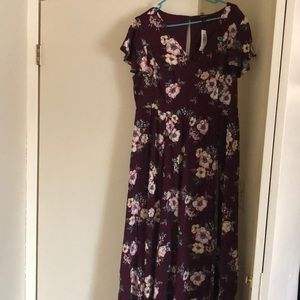 Floral dress new with tag!